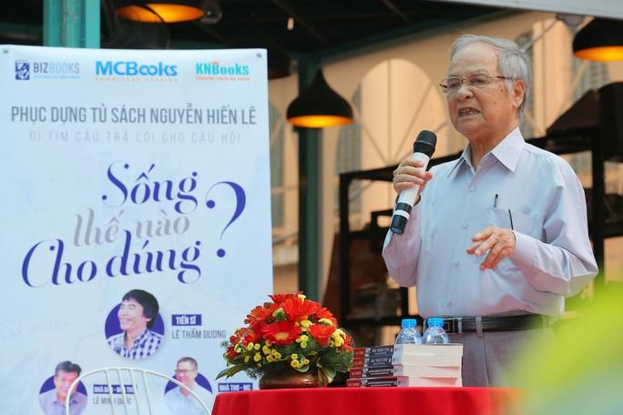 Trao bản quyền toàn bộ tủ sách Nguyễn Hiến Lê - Ảnh 2.