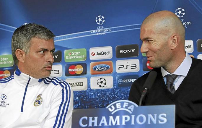 Khi Zidane nhắm ghế của… Mourinho - Ảnh 1.