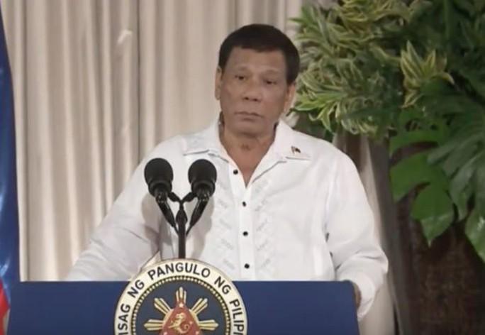 Tổng thống Philippines công khai cảnh báo Trung Quốc - Ảnh 1.