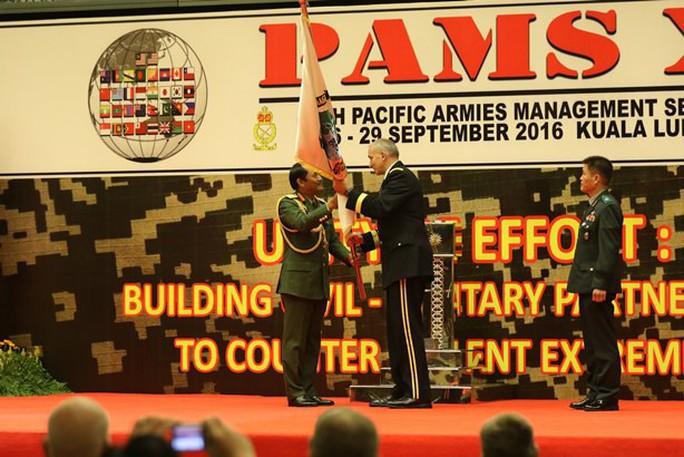 Quân đội Việt - Mỹ đồng chủ trì hội thảo Quản lý Lục quân Thái Bình Dương - Ảnh 1.