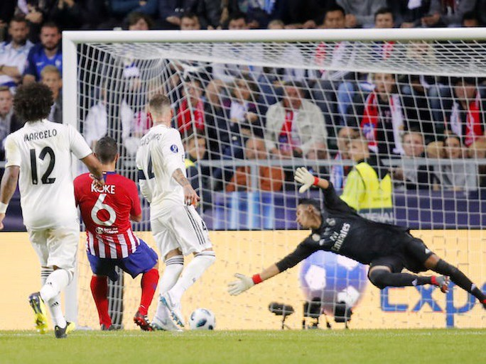 Derby siêu đỉnh, Atletico Madrid giành Siêu cúp châu Âu - Ảnh 7.
