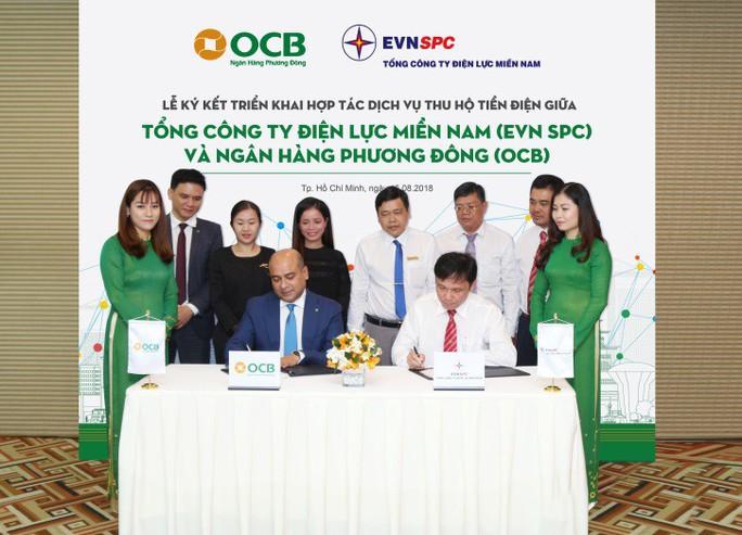OCB thu hộ tiền điện - Ảnh 1.