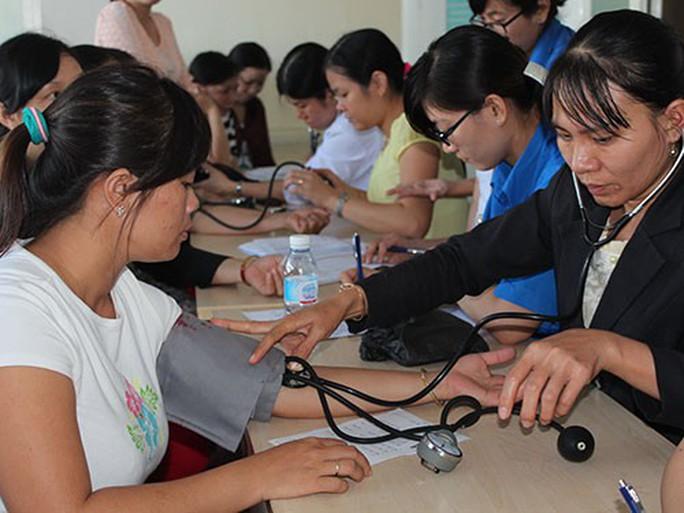 Tăng khả năng tiếp cận dịch vụ chăm sóc sức khỏe cho CN - Ảnh 1.