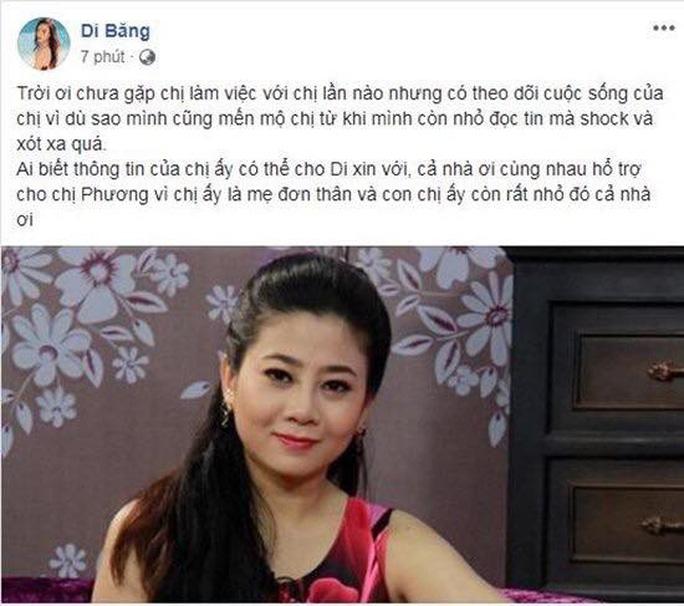 Nghệ sĩ xót xa, kêu gọi giúp diễn viên Mai Phương - Ảnh 4.