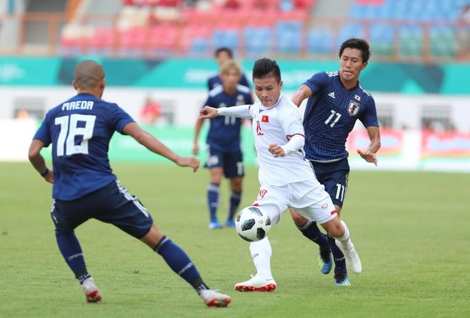 Olympic Việt Nam - Nhật Bản 1-0: Quang Hải có duyên phá lưới đội bóng lớn - Ảnh 1.