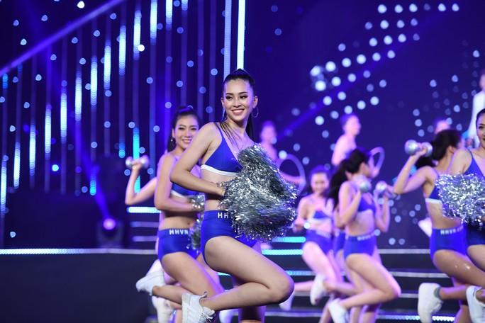 Hoa hậu Việt Nam 2018: trang phục thể thao hot không thua bikini - Ảnh 5.