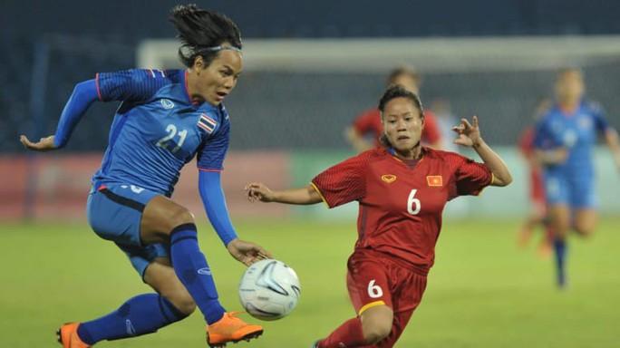 Bóng đá nữ Việt Nam vào tứ kết, Thái Lan ít hy vọng - Ảnh 1.