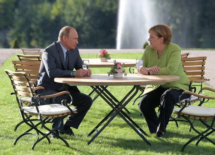 Ông Putin và bà Merkel bàn bạc gì bên ngoài Berlin? - Ảnh 1.