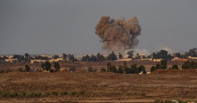 """Israel không kích giết 7 """"phần tử khủng bố"""" ở Syria - Ảnh 1."""