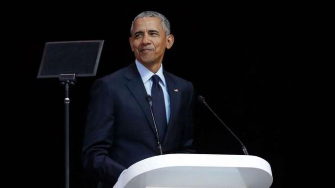 Ông Obama lộ diện, ra tuyên bố quan trọng - Ảnh 1.