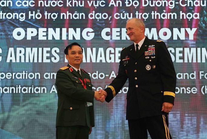 Tư lệnh Lục quân Mỹ: Sẵn sàng hỗ trợ, giúp đỡ các nước trong khu vực - Ảnh 1.