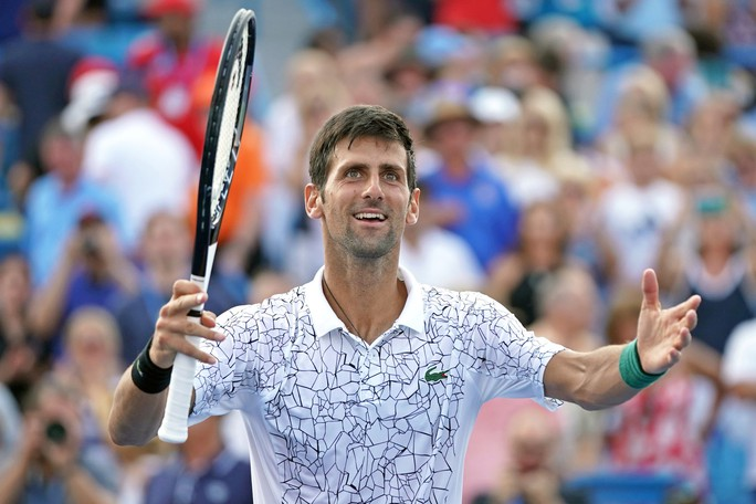 Clip Djokovic tạo kỳ tích khi vô địch Cincinnati Open 2018 - Ảnh 5.