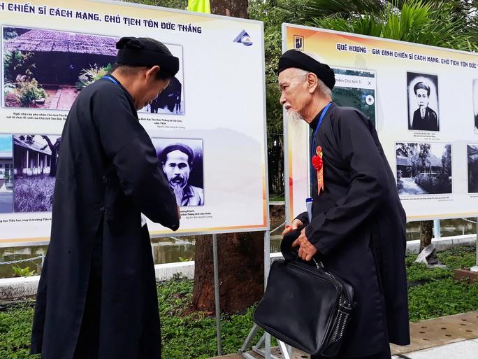 Long trọng kỷ niệm 130 năm ngày sinh Bác Tôn - Ảnh 3.
