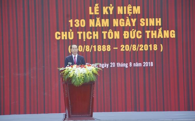 Long trọng kỷ niệm 130 năm ngày sinh Bác Tôn - Ảnh 8.