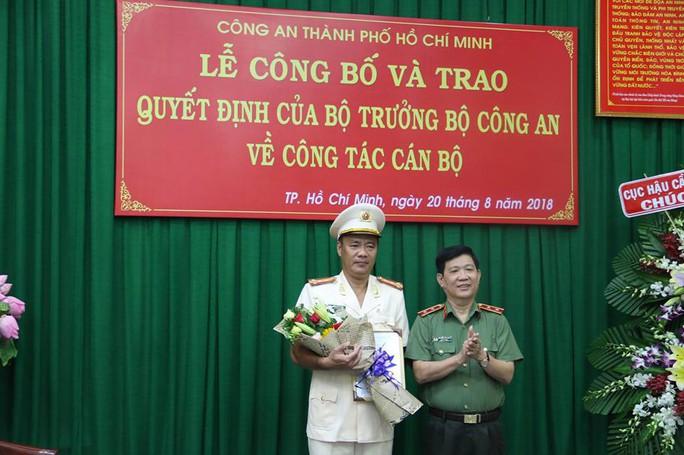Bộ Công an bổ nhiệm một phó giám đốc Công an TP HCM - Ảnh 1.