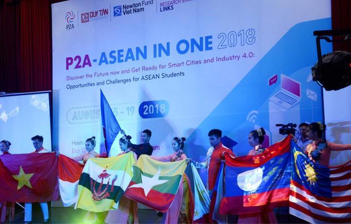 Sinh viên ASEAN hội tụ tại Đà Nẵng - Ảnh 1.