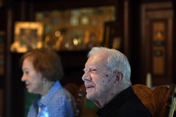 Sống đơn giản như cựu tổng thống Mỹ Jimmy Carter - Ảnh 1.