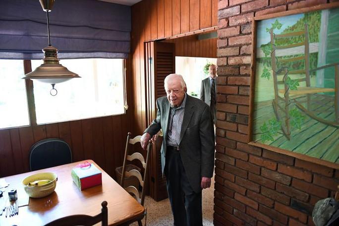 Sống đơn giản như cựu tổng thống Mỹ Jimmy Carter - Ảnh 2.