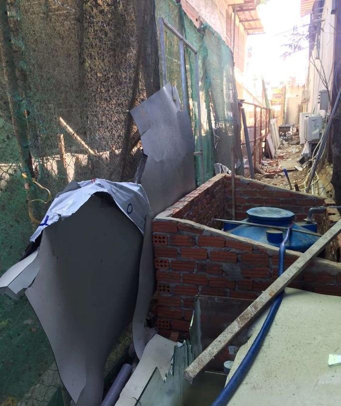Thi công công trình không đảm bảo an toàn cho dân - Ảnh 2.