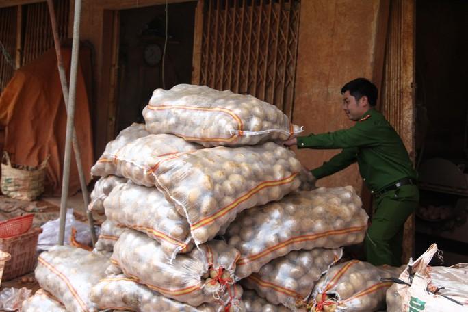 Liên tiếp phát hiện các điểm hóa kiếp nông sản Trung Quốc thành Đà Lạt - Ảnh 1.