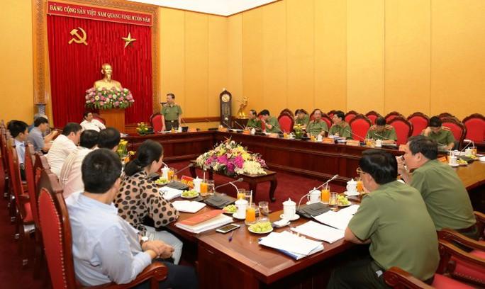 Kiện toàn Đảng ủy Công an Trung ương nhiệm kỳ 2015-2020 - Ảnh 1.