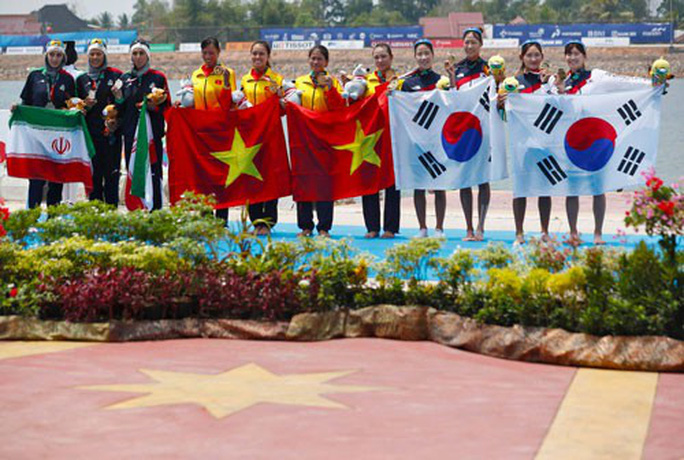 Phạm Thị Thảo: Không biết bơi vẫn vô địch chèo thuyền ASIAD - Ảnh 1.