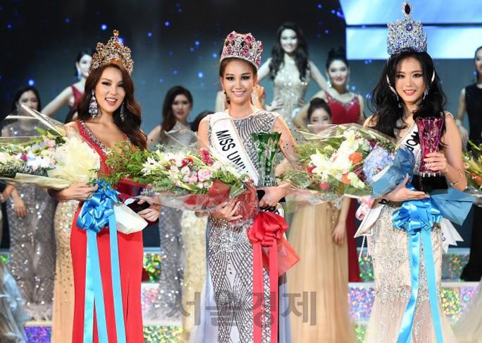 Cận cảnh nhan sắc 3 hoa hậu của Hàn Quốc năm 2018 - Ảnh 1.