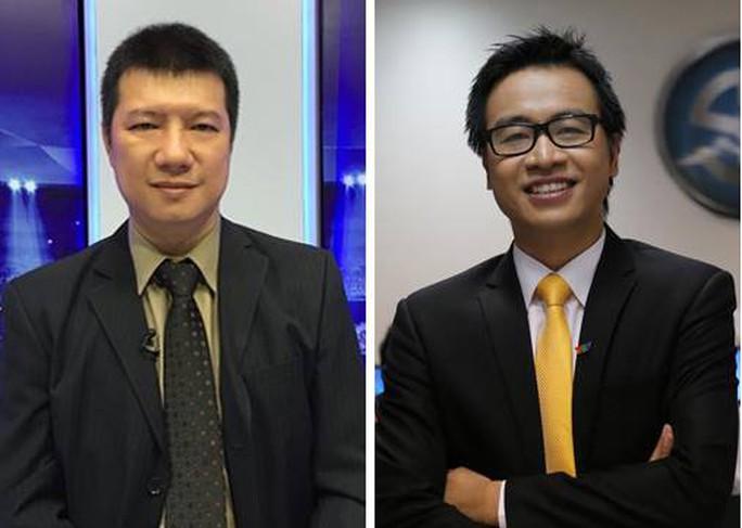 BLV Quang Huy bác thông tin bình luận cùng Tạ Biên Cương trận Olympic VN-Bahrain - Ảnh 1.
