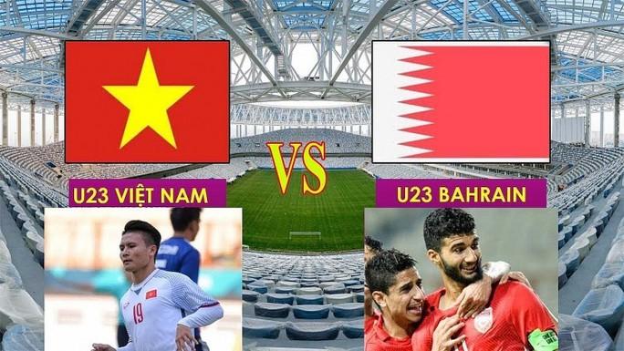 Tối nay 23-8, trận Olympic Việt Nam-Bahrain phát trên kênh nào của VOV, VTC, VTV? - Ảnh 1.