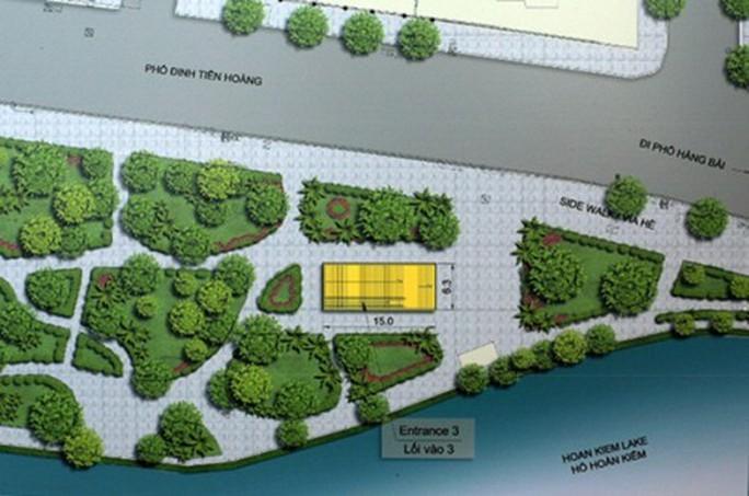 Bộ VH-TT-DL lên tiếng việc xây ga tàu điện ngầm sát hồ Gươm - Ảnh 1.