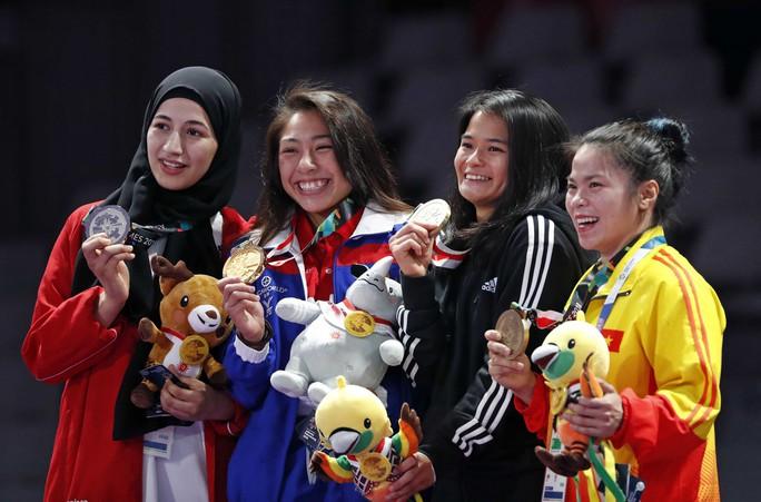 Qua mặt đại gia Tây Á, Campuchia có HCV Á vận hội đầu tiên - Ảnh 2.