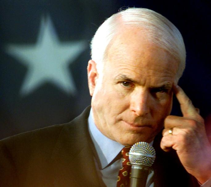 Thượng nghị sĩ John McCain qua đời - Ảnh 1.