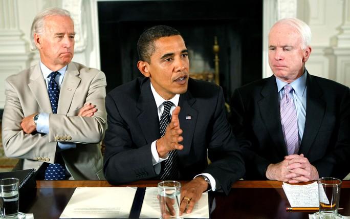Thượng nghị sĩ John McCain qua đời - Ảnh 4.