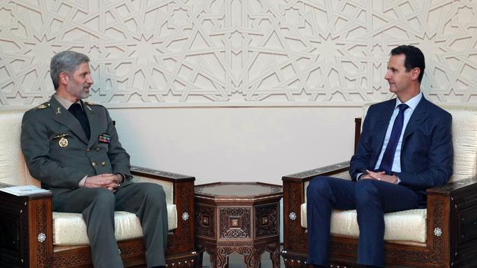 Phớt lờ Mỹ, Iran tiếp tục bám trụ tại Syria - Ảnh 1.