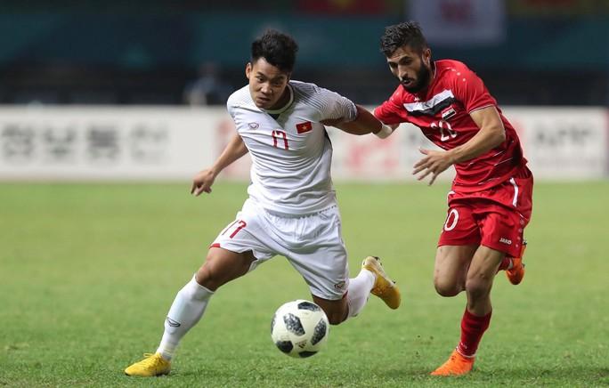Văn Toàn ghi bàn hạ Syria, Olympic Việt Nam vào bán kết ASIAD - Ảnh 3.