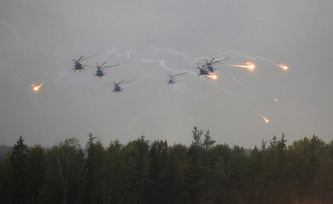 Nga tập trận lớn, NATO lo ngại - Ảnh 1.