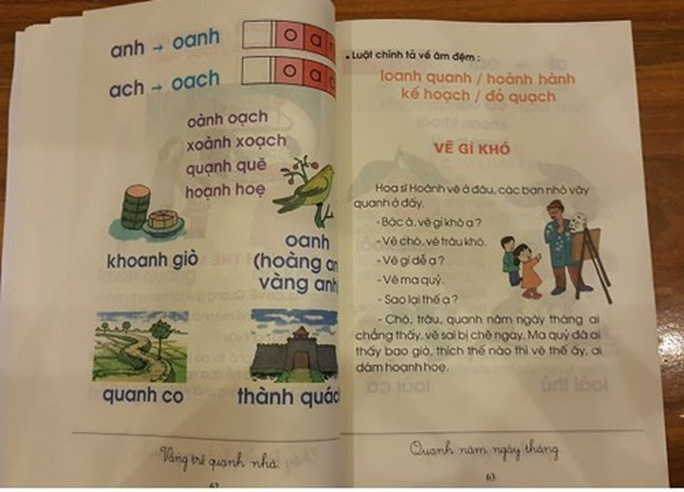 Nhiều nội dung không phù hợp trong SGK Tiếng Việt Công nghệ Giáo dục - Ảnh 1.