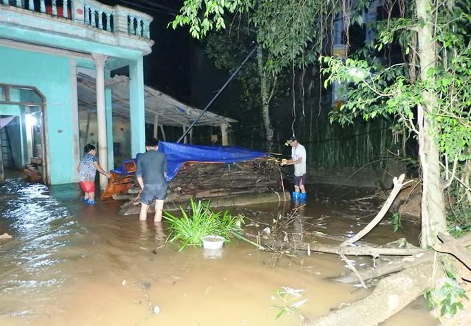 Lũ xô đổ cầu treo, nước ngập lên tới nóc nhà - Ảnh 11.