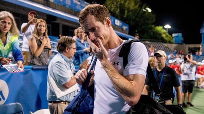 Nước mắt bất lực của Murray - Ảnh 1.