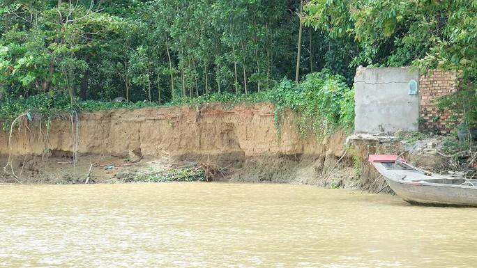Nhói lòng trước vùng sạt lở dọc sông Đồng Nai - Ảnh 11.