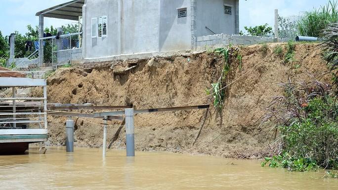 Nhói lòng trước vùng sạt lở dọc sông Đồng Nai - Ảnh 9.