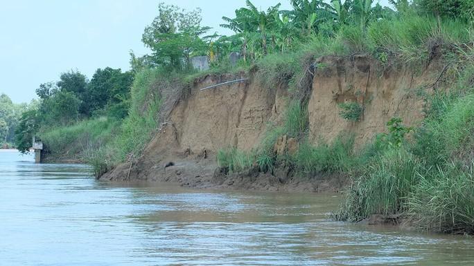 Nhói lòng trước vùng sạt lở dọc sông Đồng Nai - Ảnh 13.