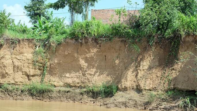 Nhói lòng trước vùng sạt lở dọc sông Đồng Nai - Ảnh 14.