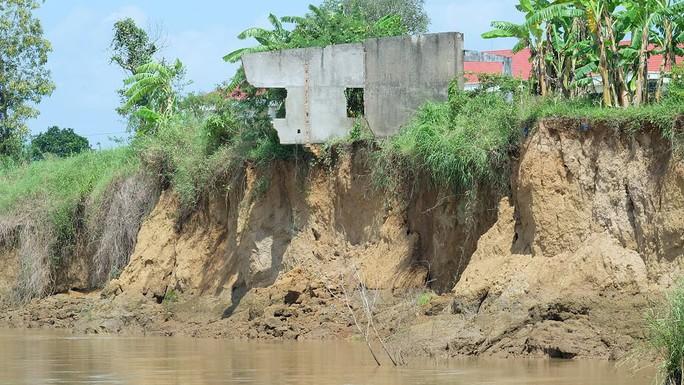 Nhói lòng trước vùng sạt lở dọc sông Đồng Nai - Ảnh 1.