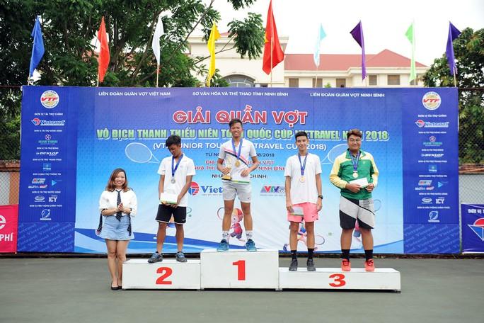 Tay vợt nữ Việt kiều vô địch U16 - Ảnh 1.