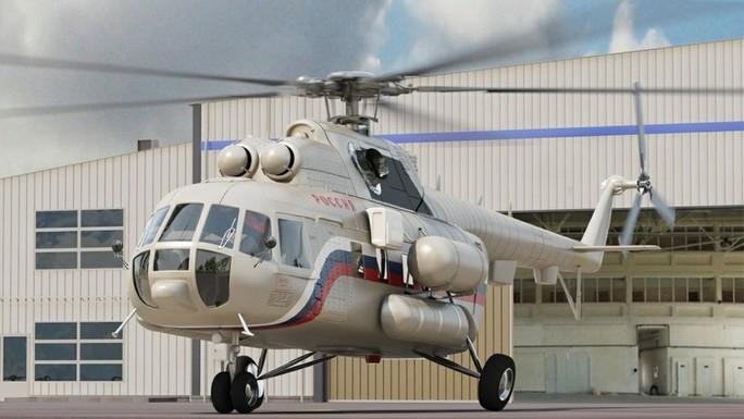 Nga: Rơi trực thăng, 18 người thiệt mạng - Ảnh 1.