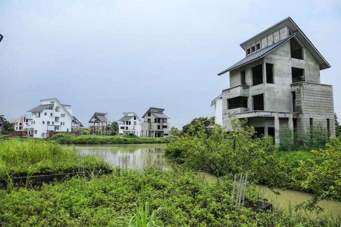 Cận cảnh dự án biệt thự 2.000 tỉ đồng bỏ hoang của Lã Vọng - Ảnh 4.