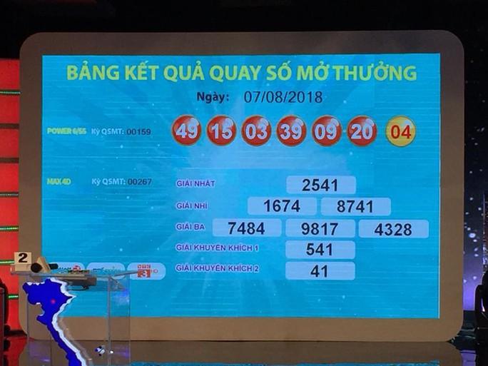 Thêm vé số Vietlott trúng 47 tỉ đồng ở Đồng Nai - Ảnh 1.