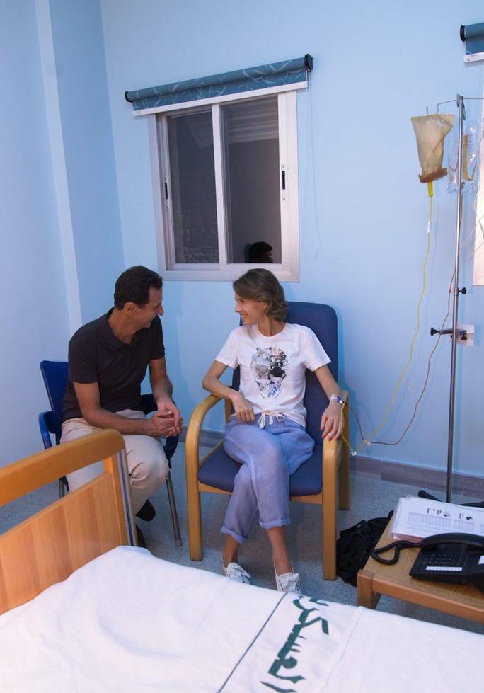 Đệ nhất phu nhân Syria đang điều trị ung thư vú - Ảnh 1.