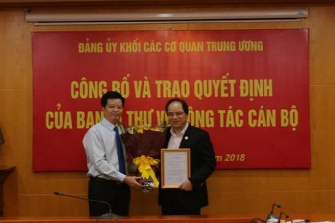Trao quyết định nhân sự của Ban Bí thư Trung ương Đảng - Ảnh 2.